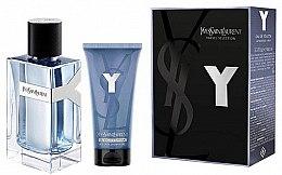Parfüm, Parfüméria, kozmetikum Yves Saint Laurent Y Pour Homme - Szett (edt/100ml + sh/gel/50ml)