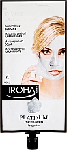 Parfüm, Parfüméria, kozmetikum Arcmaszk - Iroha Nature Platinum Peel Off Mask Glowing 4 Uses