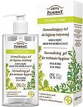 Parfüm, Parfüméria, kozmetikum Intim mosakodó gél - Green Pharmacy Normalizing Gel