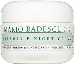 Parfüm, Parfüméria, kozmetikum Éjszakai arckrém E-vitaminnal - Mario Badescu Vitamin E Night Cream