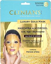 Parfüm, Parfüméria, kozmetikum Hidrogél arcmaszk argánolajjal - Clinians Hydrogel Mask With Argan Oil And Golden Powder