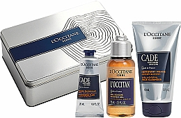 Parfüm, Parfüméria, kozmetikum Szett - L'Occitane Cade Men Set (fluid/20ml + sh/ge/75g + f/cleanser/150ml)