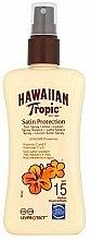 Parfüm, Parfüméria, kozmetikum Napvédő lotion testre - Hawaiian Tropic Protective Sun Spray Lotion SPF 15