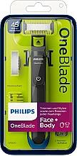 Parfüm, Parfüméria, kozmetikum Arc és test trimmer - Philips OneBlade Face + Body QP2620/20