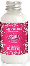Parfüm, Parfüméria, kozmetikum Krémtusfürdő - Institut Karite Fleur de Cerisier Shea Cream Wash Cherry Blossom (mini)