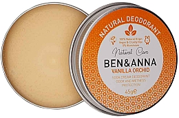 Parfüm, Parfüméria, kozmetikum Természetes krémes dezodor - Ben & Anna Vanilla Orchid Soda Cream Deodorant