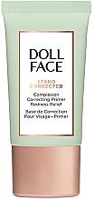 Parfüm, Parfüméria, kozmetikum Korrigáló primer bőrpírral lévő arcra - Doll Face Stand Corrected Complexion Equalizer Primer