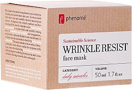 Parfüm, Parfüméria, kozmetikum Anti-age maszk - Phenome Wrinkle Resist Face Mask