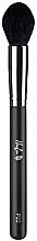 Parfüm, Parfüméria, kozmetikum Highlighter ecset, fekete P22 - Hulu