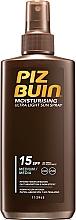 Parfüm, Parfüméria, kozmetikum Napozó spray SPF 15 - Piz Buin Moisturising Spray