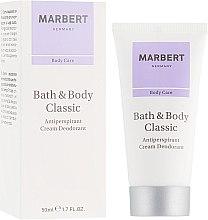 Parfüm, Parfüméria, kozmetikum Izzadásgátló krém - Marbert Bath & Body Classic Anti-Perspirant Cream Deodorant
