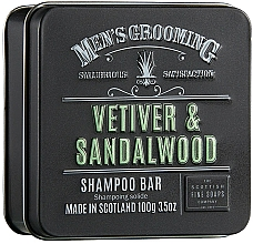 "Parfüm, Parfüméria, kozmetikum Sampon ""Vetiver és szantálfa"" - Scottish Fine Soaps Mens Grooming Vetiver & Sandalwood Shampoo Bar"