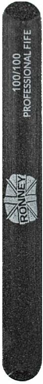 Körömreszelő, 100/100, fekete, - Ronney Professional