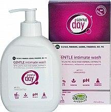 Parfüm, Parfüméria, kozmetikum Intim higiéniai folyadék tejsavval és növényi kivonatokkal - Gentle Day