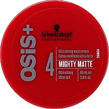 Parfüm, Parfüméria, kozmetikum Mattító hajápoló krém - Schwarzkopf Professional Osis+ Mighty Matte Cream