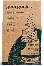 """Parfüm, Parfüméria, kozmetikum Fogtisztító tabletta """"Angol menta"""" - Georganics Natural Toothtablets English Peppermint (csere blokk)"""