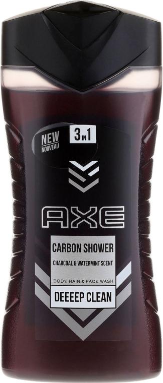 Tusfürdő gél 3 az 1-ben - Axe Carbon Shower Gel