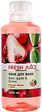 """Parfüm, Parfüméria, kozmetikum Habfürdő """"Rózsaszín alma és guava"""" - Fresh Juice Rose Apple and Guava"""