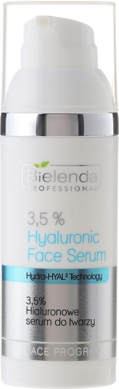 Hialuronsavas arcszérum 3,5% - Bielenda Professional Face Program 3.5% Hyaluronic Face Serum
