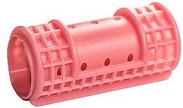 Parfüm, Parfüméria, kozmetikum Hajcsavaró, 28/65 mm, rózsaszín - Ronney Hollow Magntic Rollers