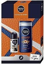Parfüm, Parfüméria, kozmetikum Szett - Nivea Men Ultimate Sport (sh/gel/250ml + deo/roll/50ml)