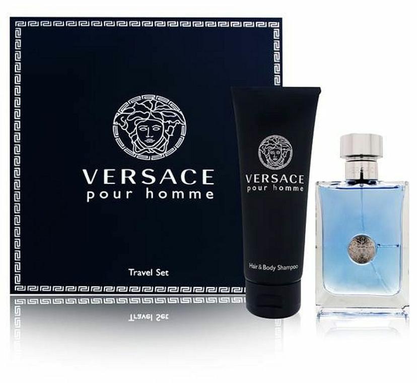 Versace Versace Pour Homme - Szett (edt/100ml + sh/gel/100ml) — fotó N1
