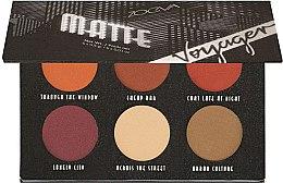 Parfüm, Parfüméria, kozmetikum Szemhéjfesték paletta - Zoeva Voyager Matte Eyeshadow Palette