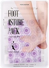 Parfüm, Parfüméria, kozmetikum Hidratáló maszk-ápolás lábra - Kocostar Foot Moisture Pack Purple