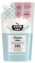 """Parfüm, Parfüméria, kozmetikum Baba antibakteriális szappan """"Ananász és kókusz"""" - Yope (doy pack)"""