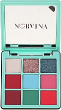 Parfüm, Parfüméria, kozmetikum Szemhéjfesték paletta - Anastasia Beverly Hills Norvina Pro Pigment Mini №3