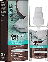 """Parfüm, Parfüméria, kozmetikum """"Táplálás és ragyogás"""" hajolaj - Dr. Sante Coconut Hair"""