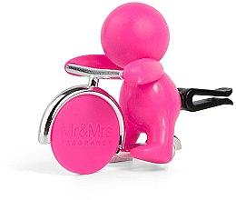 Parfüm, Parfüméria, kozmetikum Mr&Mrs Fragrance Gino Citrus & Musk Fuchsia - Autó illatosító