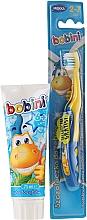 Parfüm, Parfüméria, kozmetikum Gyerek fogkefe és fogkrém készlet - Bobini (t/brush + t/paste/75 ml)