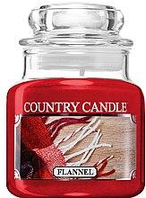 Parfüm, Parfüméria, kozmetikum Illatgyertya üvegben - Country Candle Flannel