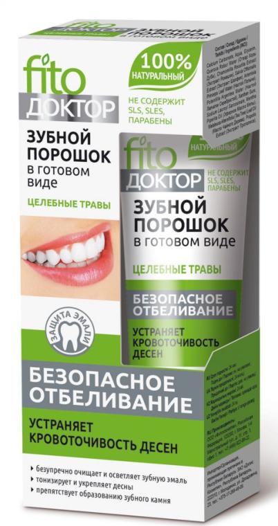 """Paszta állagú fogpor """"Fitodoktor"""" - Fito Kozmetikum"""