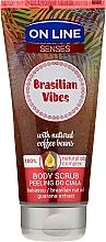 Parfüm, Parfüméria, kozmetikum Testradír - On Line Senses Body Scrub Brasilian Vibes