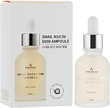 Parfüm, Parfüméria, kozmetikum Fiatalító ampullás szérum csigamucinnal és kollagénnel - The Skin House Snail Mucin 5000 Ampoule