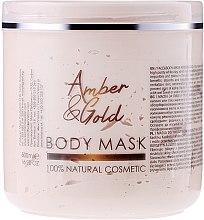 """Parfüm, Parfüméria, kozmetikum Arc- és testápoló maszk """"Borostyán és arany"""" - Sezmar Collection Professional Body Mask Amber & Gold"""