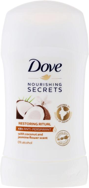 "Deo stift ""Kókusz és jázmin"" - Dove Nourishing Secrets Restoring Ritual Deodorant"