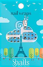Parfüm, Parfüméria, kozmetikum Körömdíszítő matricák - Snails Nail Wraps