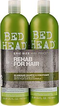 Parfüm, Parfüméria, kozmetikum Készlet - Tigi Bed Head Rehab For Hair Kit (shm/750ml + cond/750ml)