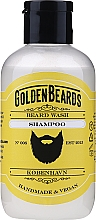 Parfüm, Parfüméria, kozmetikum Sampon szakállra - Golden Beards Beard Wash Shampoo