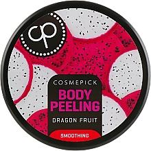 Parfüm, Parfüméria, kozmetikum Simító testradír pitaja illattal - Cosmepick Body Peeling Dragon Fruit