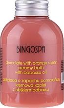 Parfüm, Parfüméria, kozmetikum Krémes tusoló gél csokoládé és narancs kivonattal - BingoSpa