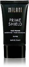 Parfüm, Parfüméria, kozmetikum Mattító arc primer - Milani Prime Shield Face Primer Mattifying + Pore-minimizing