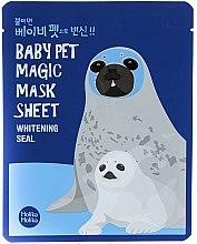 """Parfüm, Parfüméria, kozmetikum Szövetmaszk """"Fóka"""" - Holika Holika Baby Pet Magic Mask Sheet Whitening Seal"""