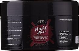 Parfüm, Parfüméria, kozmetikum Tisztító peeling testre és kézre - Apis Professional Night Fever Peelling For Body, Hand And Foot