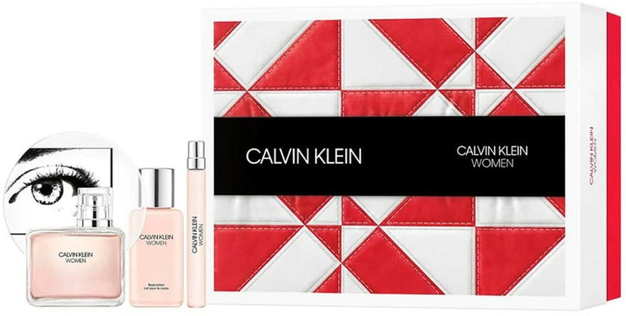 Calvin Klein Women - Szett (edp/100ml + b/lot/100ml + edp/10ml)