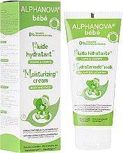 Parfüm, Parfüméria, kozmetikum Hidratáló krém gyerekeknek - Alphanova Baby Moisturizing Fluid