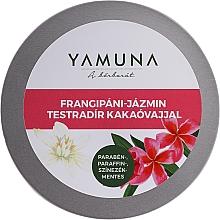 Parfüm, Parfüméria, kozmetikum Testradír kakaóvajjal - Yamuna Frangipani-Jasmine Body Scrub With Cocoa Butter